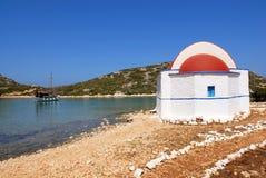Ro Grecia de Kastellorizo-Megisti Imágenes de archivo libres de regalías