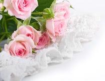 Ro i retro stil, blomma, blom- bakgrund Royaltyfria Bilder