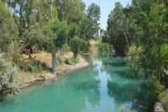 Río Jordania Foto de archivo