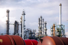 rośliny rafinerii oleju Fotografia Stock