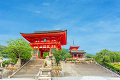 Ro-Mon Red Gate Kiyomizudera Temple Entry Evening Royalty Free Stock Image