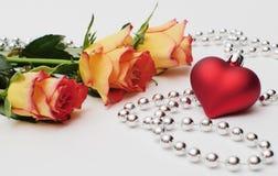 Ro och hjärta Arkivbild