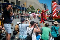 33ro Pride Parade anual de Toronto Imagen de archivo