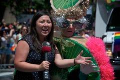 33ro Pride Parade anual de Toronto Fotografía de archivo