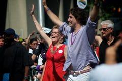 33ro Pride Parade anual de Toronto Imagen de archivo libre de regalías