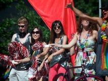 33ro Pride Parade anual de Toronto Imágenes de archivo libres de regalías