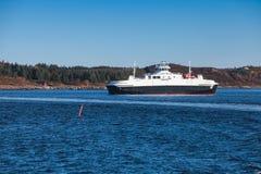 Ro-Ro ferry Edoyfjord by Fjord1 operator Stock Image