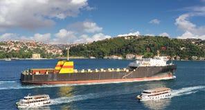 Ro-roShip Royaltyfria Bilder