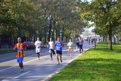 31ro Sofia International Marathon Fotografía de archivo