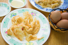 Ro-ti flour of southern flat bread recipe Stock Image