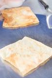 Ro-ti fried southern flat bread recipe Royalty Free Stock Image