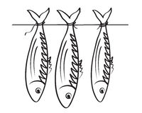 roach θάλασσα stockfish Στοκ φωτογραφίες με δικαίωμα ελεύθερης χρήσης
