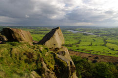 The Roaches in The Peak District,  England Royalty Free Stock Photos