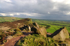 The Roaches in The Peak District,  England Royalty Free Stock Photo