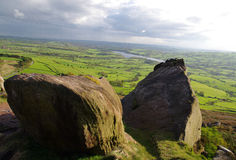 The Roaches in The Peak District,  England Stock Images