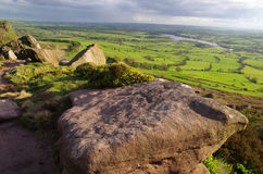 The Roaches in The Peak District,  England. A photo of The Roaches in The Peak District,  England Royalty Free Stock Photography