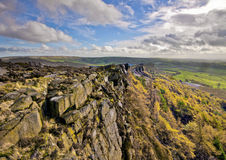 The Roaches  Peak District Royalty Free Stock Photography