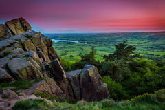 The Roaches, Peak District National Park stock images