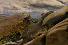 The Roaches in Staffordshire Stock Photos