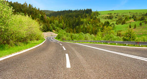 Road. Freedom to push ahead Royalty Free Stock Photography
