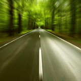 Road. I motion blur - abstract royalty free stock photos