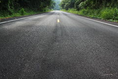 Road. New road go to the national park thailand Stock Photo