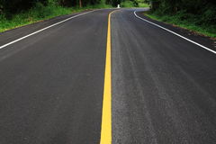 Road. New road go to the national park thailand Royalty Free Stock Images