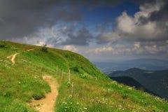 Road. Mount Feldberg in Germany, Schwarzwald 2009 Royalty Free Stock Images