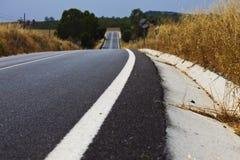 Road. Open road in Alentejo, Portugal Stock Photography