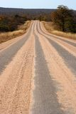 Road. With sand on it Stock Image