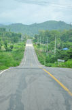 Road. In Mae Hong Son Stock Photo