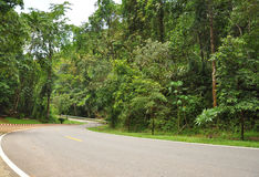 Road. In Mae Hong Son,Thailand Royalty Free Stock Image