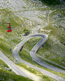 Road. A road crossing the mountains Royalty Free Stock Image