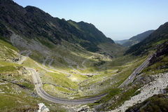 Road. A road crossing the mountains Royalty Free Stock Photography