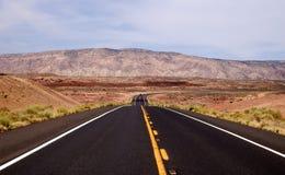 Road. In arizona in desert Royalty Free Stock Image