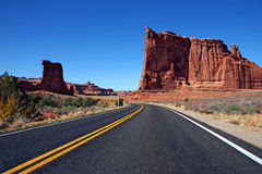 The road. Royalty Free Stock Photography