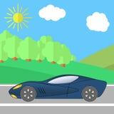 Road-13 stock illustrationer