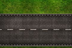 Road From Above Illustration Royalty Free Stock Photo