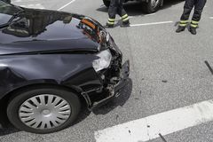 Road_accident Imagem de Stock Royalty Free