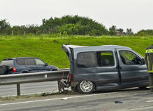 Road accident. Stock Photography