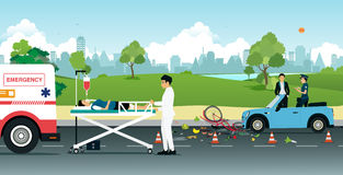 Road accidents Royalty Free Stock Photography