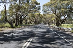 Typical street South Australia Royalty Free Stock Photography