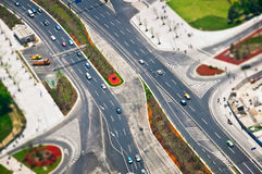 Road, aerial  view Royalty Free Stock Photo