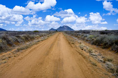 The road in Africa Stock Image