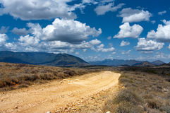 The road in Africa Stock Photos