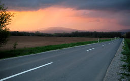 On the Road Again Royalty Free Stock Photo