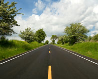 The road ahead Stock Photography