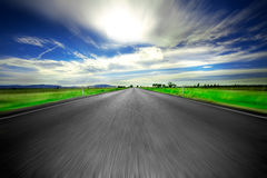 Road ahead Royalty Free Stock Images