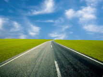Road Ahead Royalty Free Stock Photo