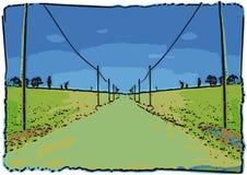 Road ahead (vector) Royalty Free Stock Image